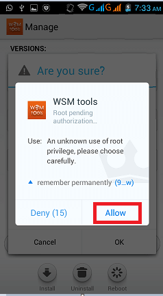 wsm root access