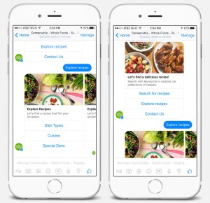 Browse Menu And Order Food On Facebook Messenger
