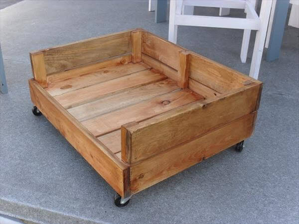How To Build A Raised Wooden Dog Bed Awake83etc