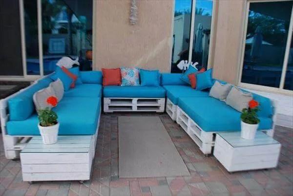 DIY Pallet Living Room Sitting Furniture Plans | 99 Pallets on Pallet Room  id=23233