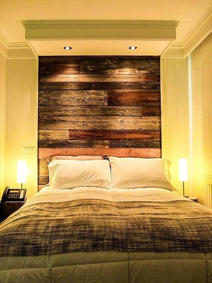 DIY Upcycled Pallet Bedroom Ideas on Pallet Ideas For Bedroom  id=74971