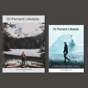 Volume 1 and 2 of 99 Percent Lifestyle