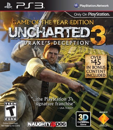 Uncharted 3: Drake's Deception - Game of the Year Edition - Playstation 3 - Uncharted 3: Drake's Deception – Game of the Year Edition – Playstation 3