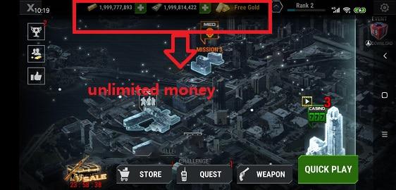 - โกงเกม DEAD TARGET: OFFLINE ZOMBIE GAMES Mod Apk 4.20.1.1