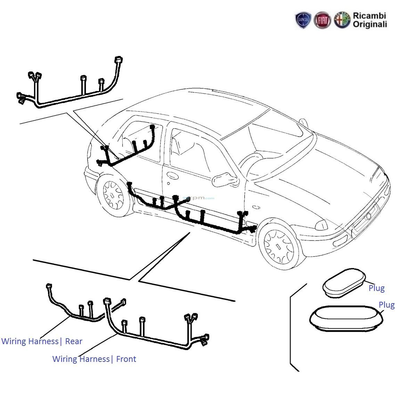 Fiat Palio 1 6 Petrol Door Wiring Harness