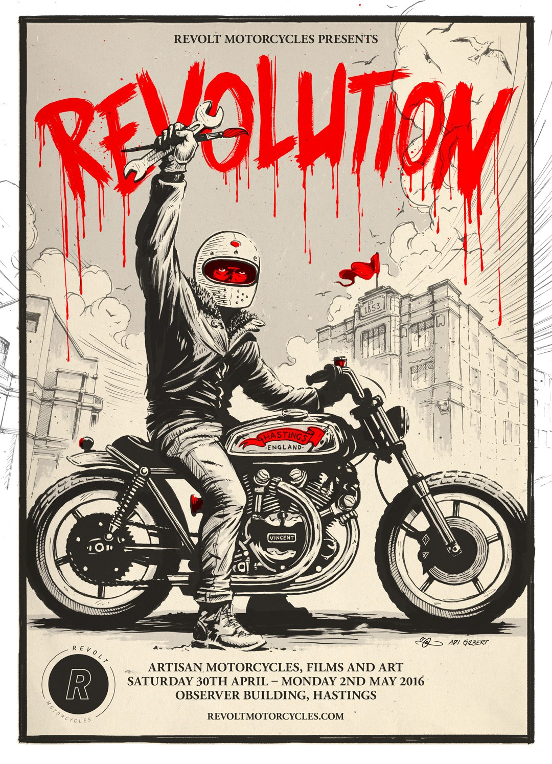 Revolution By Adi Gilbert