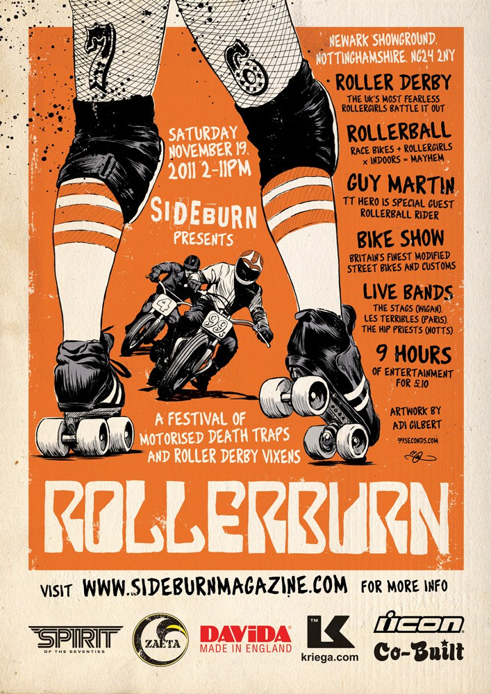 Rollerburn By Adi Gilbert