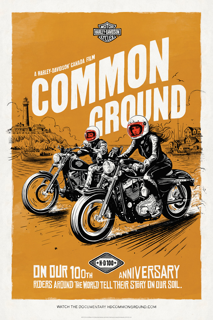 HD Common Ground poster 4 - by Adi Gilbert