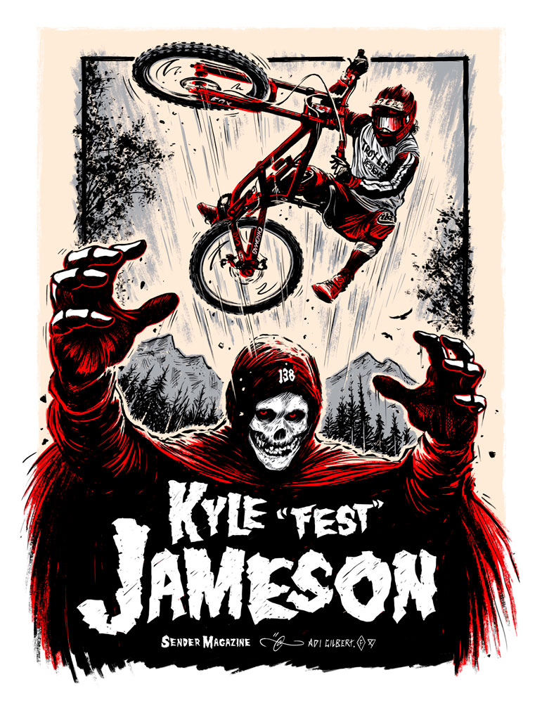 Kyle Jameson and the Crimson Ghost by Adi Gilbert