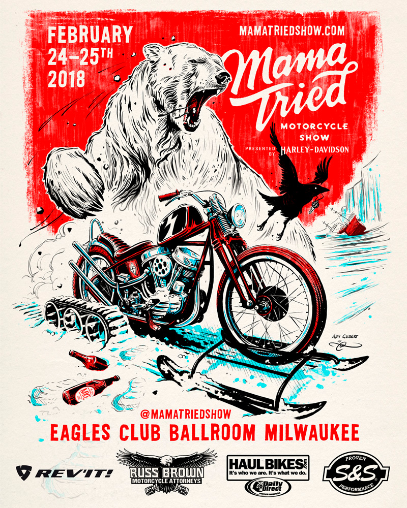Mama Tried Motorcycle Show 2018 by Adi Gilbert