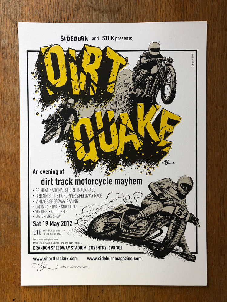 Dirt Quake by Adi Gilbert