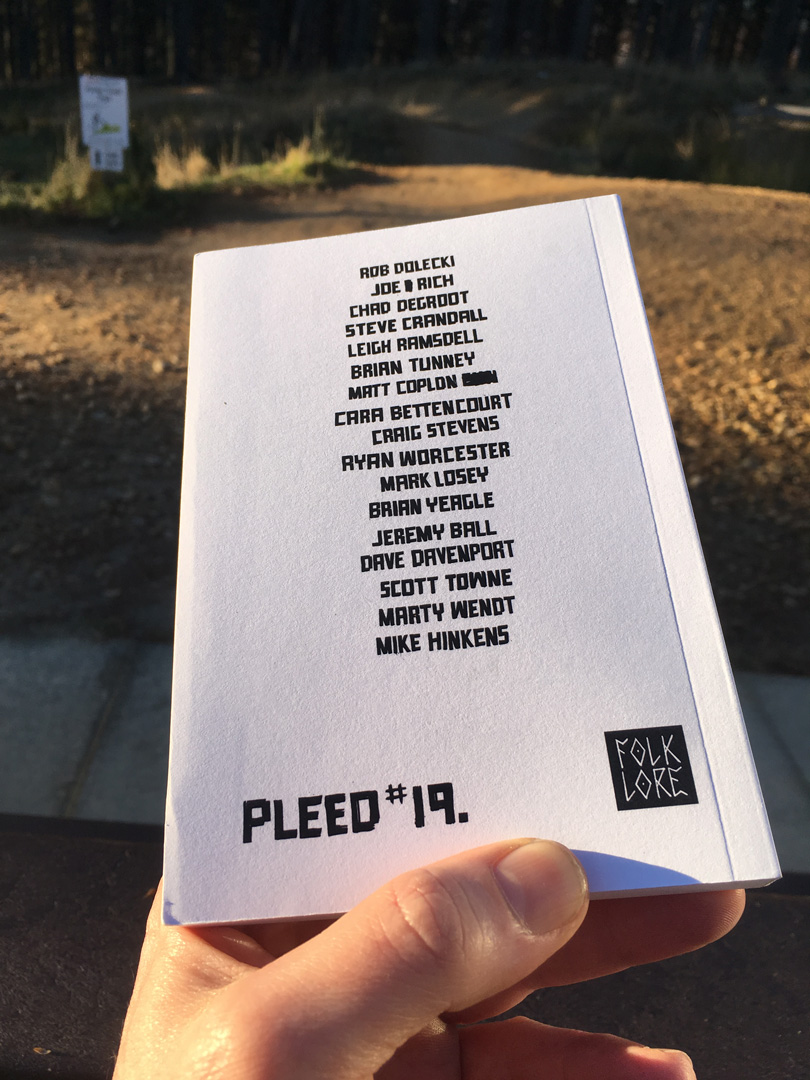 back cover / contributors | LMTYATT | Pleed 19