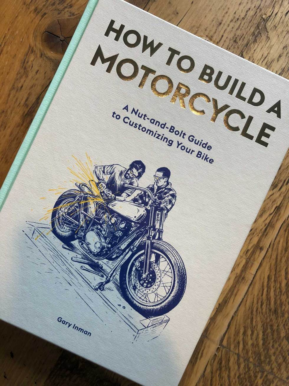 How to Build a Motorcycle Book Cover