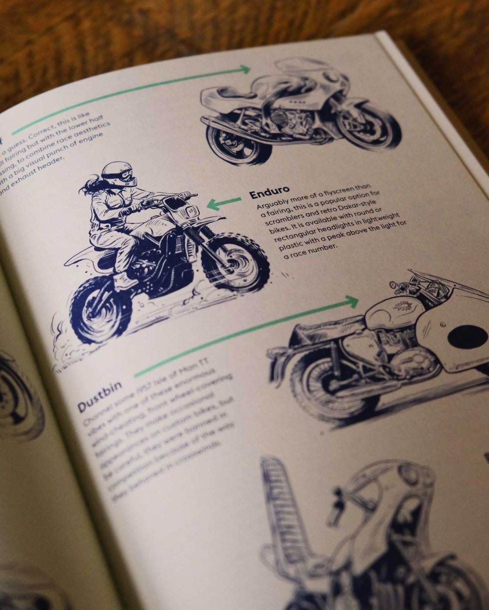 how to build a motorcycle book - enduro