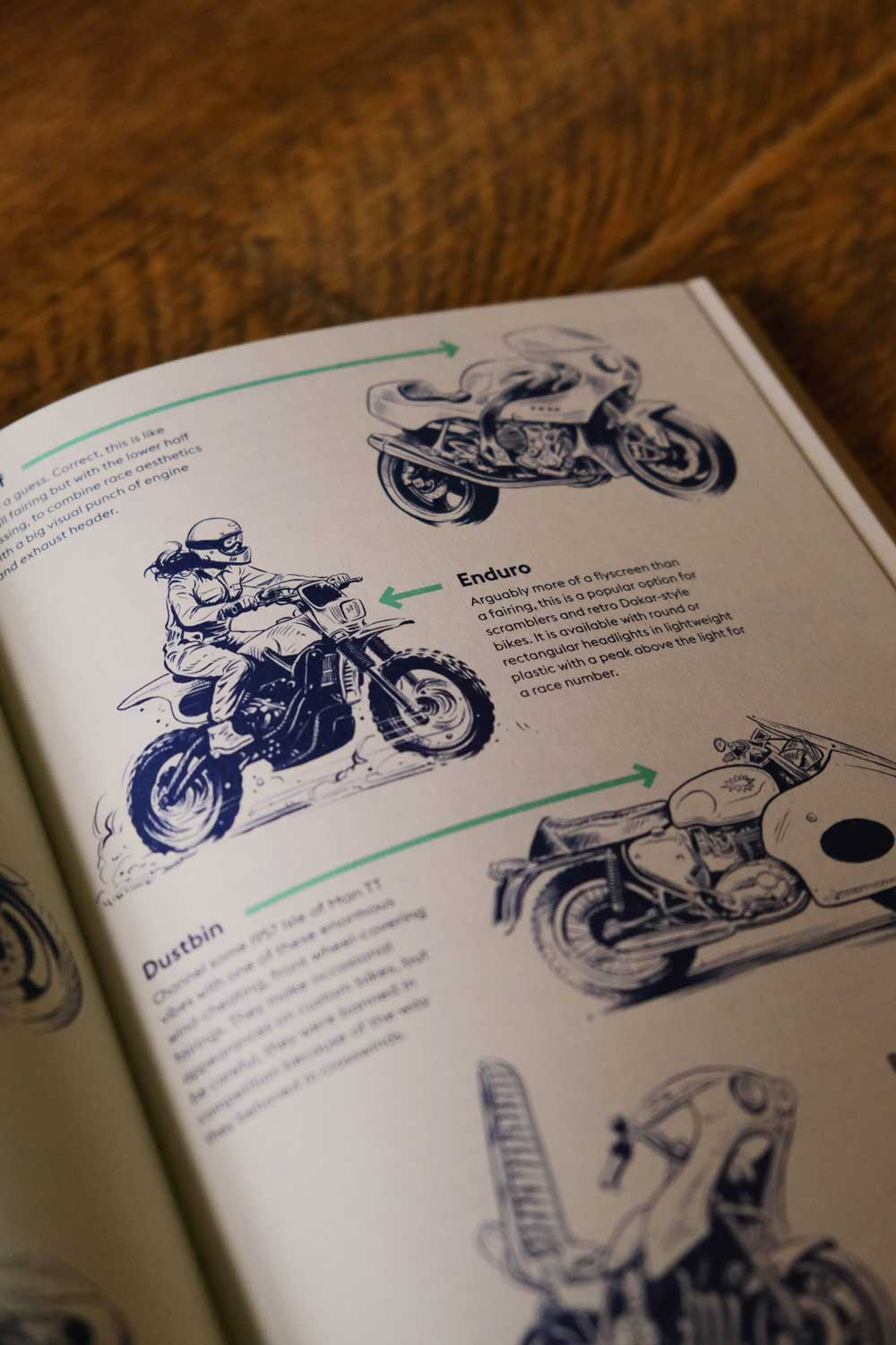 How To Build a Motorcycle illustrated book