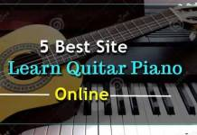 Guitar piano website
