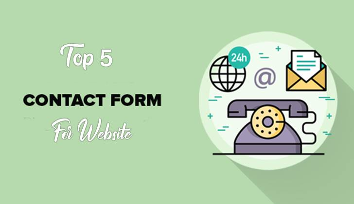 Top 5 Stylish Contact Form For Blogger Website.