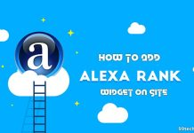 alexa rank widget for website