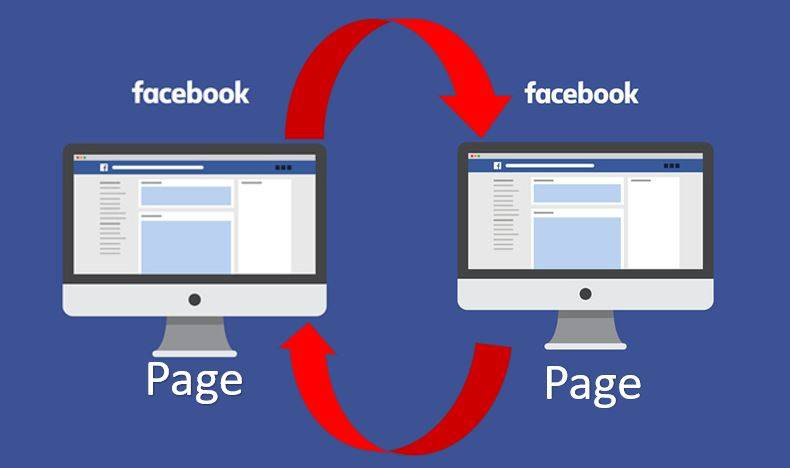 Facebook page transfer