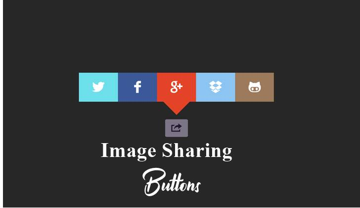 image sharing button