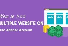one adsense account for multiple websites