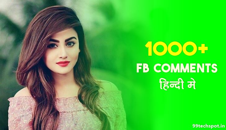 Stylish Comments for Fb Instagram in Hindi Girls Boys