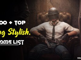 pubg stylish name list