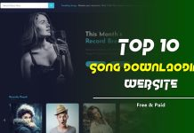song downlaod karne ki website