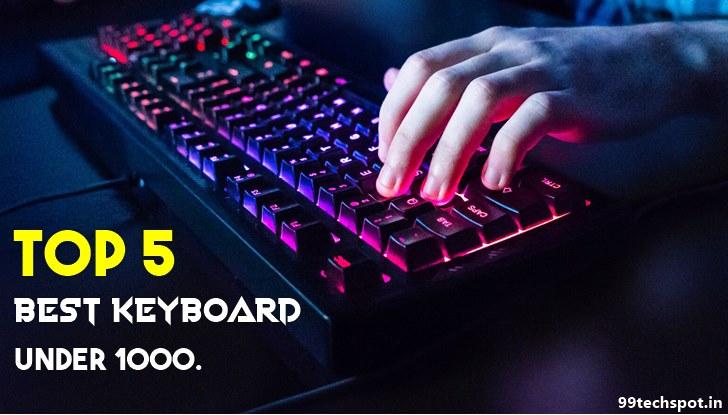 Top 5 Best Keyboard Under 1000 Review In Hindi