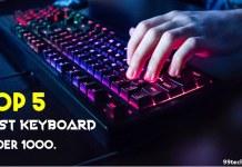 top 5 best keyboards under 1000