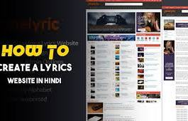 lyrics website kaise banaye