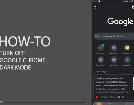 how to disable chrome dark mode in hindi
