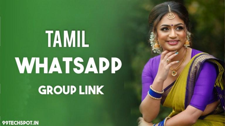 8000+ Tamil Whatsapp Group Link 2021