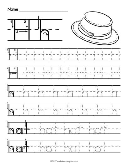 H Is For Worksheets 99worksheets