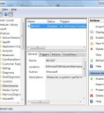 Win 7 Task Scheduler - Disable WinSAT.exe