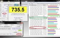 Asus UL80VT Overclocking - CpuPassmark@2.082GHz