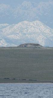 Photo illusion - NLO crashes during landing on Island of Pag