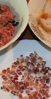 Odresci od mljevenog mesa - sastojci