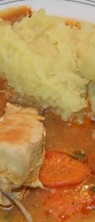 Pileci lagani paprikas - gotovo jelo