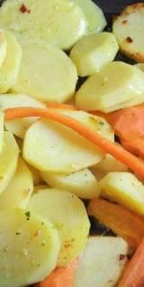 Priprema tava-krumpira