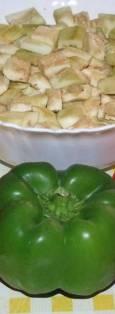 Bijeli rizoto od povrca - sastojci