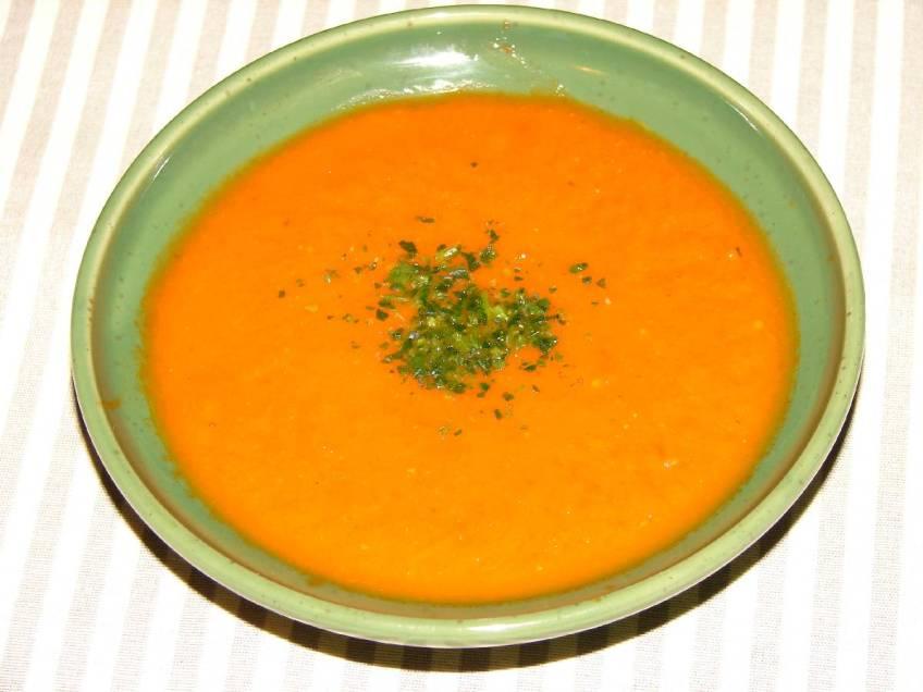 Krema juha od rajčice - gotovo jelo