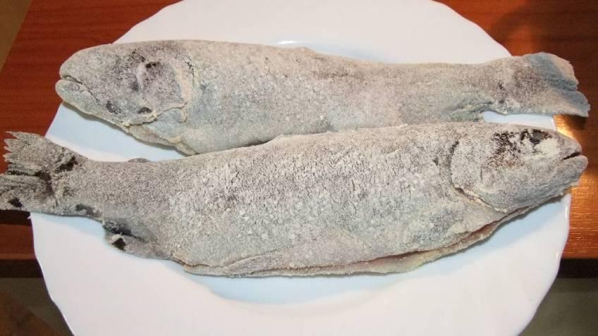 Przene pastrve s kuhanim krumpirom - panirane pastrve