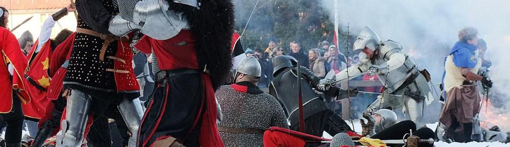 Medieval battle near Samobor