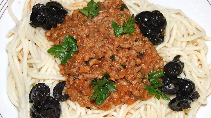 Spaghetti bolognese - gotovo jelo