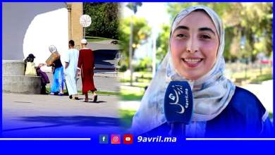 Photo of شابة طنجاوية تتقاسم فرحة العيد مع الأفارقة والمتشردين