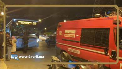Photo of سائق حافلة متهور يتسبب في حادثة سير خطيرة