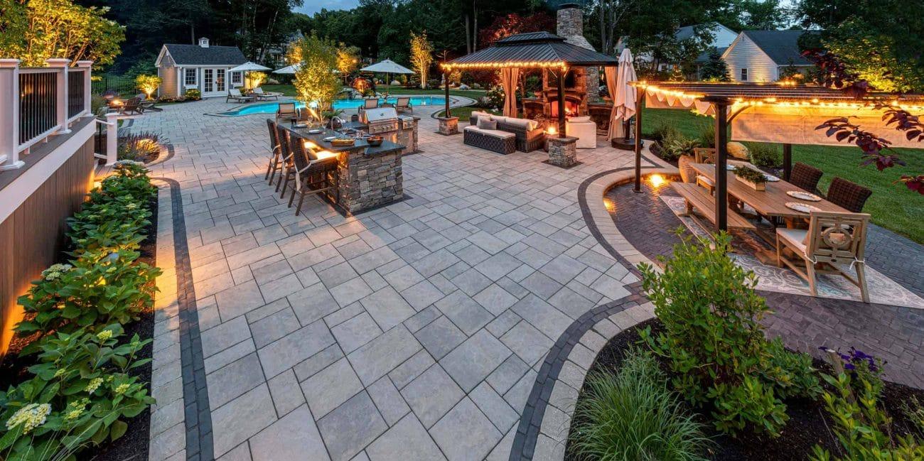 paver patio ideas and inspiration