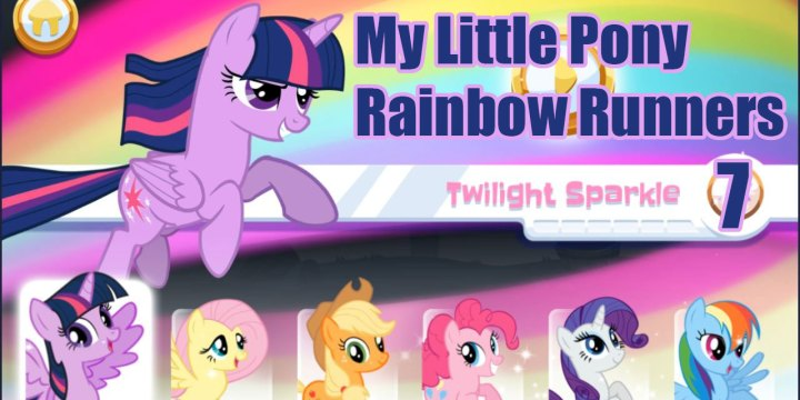My Little Pony: Rainbow Runners: Twilight Sparkle 7