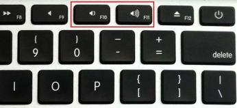 כפתורים במקלדת סאונד